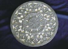 Round Celtic Design  Pattern Concrete or Plaster Cement Stepping Stone Mold 1089
