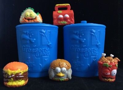 The Grossery Gang PUTRID POWER ** GROSS GREASIES ** Including Rares ** NEW