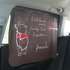 New Disney Winnie the Pooh Sun Shade Curtain 2pcs Car Accessories