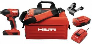 Details about 3554449 HILTI Lithium-Ion 1/4 in  Hex Cordless SID 4 Compact  Impact Driver Kit