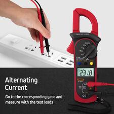 Handheld Lcd Digital Clamp Meter Multimeter Acdc Volt Ohm Amp Tester Auto Range