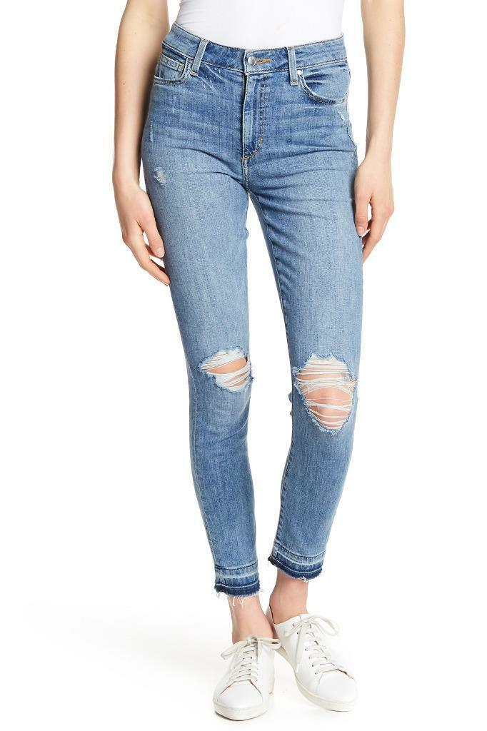 NWT Joe's Jeans Charlie High Rise Skinny Ankle Released Hem Jeans in Angelina 30