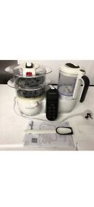 Babymoov Nutribaby + processore Food for Baby al vapore e Frullatore NUOVO