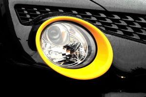 Nissan-Juke-2014-cabeza-de-la-lampara-luz-envolvente-Adornos-Amarillo-Original-ke610bv260yw