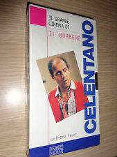 VHS IL GRANDE CINEMA DI CELENTANO IL BURBERO CON DEBRA FEUER FABBRI