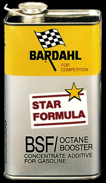 Bardahl BSF Octane Booster Additivo Speciale Competizioni Concentrato Ottani 1L