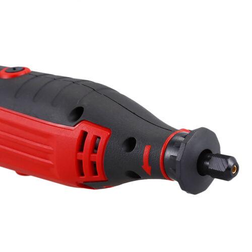 Electric Rotary Tool PRO MPT Kit Sander Grinder Polisher 62pc Set Dremel Style