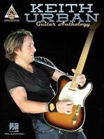 Keith Urban -guitar Anthology Sheet Music Guitar Tablature Book 000124461