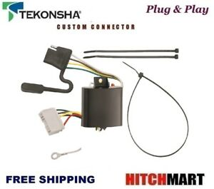 s l300 fits 2007 2013 acura mdx tekonsha trailer hitch wiring t connector