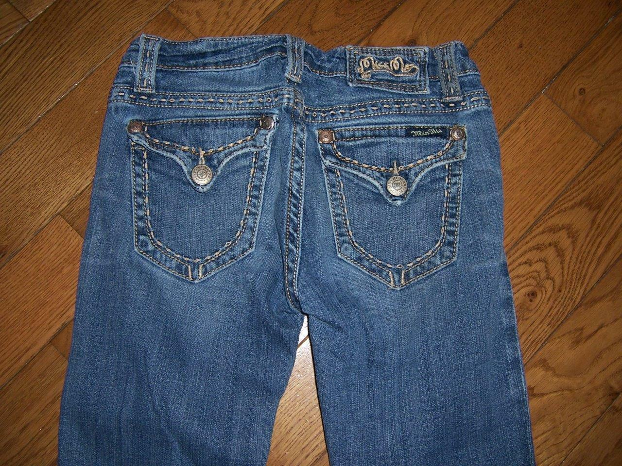 MISS ME AUSTIN BOOT CUT JEANS JP4896KND WAIST 27 LENGTH 34 AWESOME