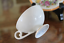thumbnail 8 - Meissen White Porcelain Cup and Saucer with Floral and Gold Trim