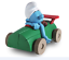 LE-SCHTROUMPF-PARESSEUX-les-schtroumpfmobiles-figures-et-vous-peyo miniature 1