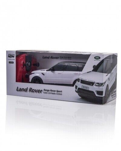 Blanc Land Rover Range Sport Réplique 1:24 Echelle Télécommande Voiture Noël