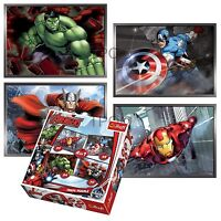 Trefl 4 In 1 35 + 48 + 54 + 70 Piece Boys Kids Avengers Hulk Jigsaw Puzzle NEW