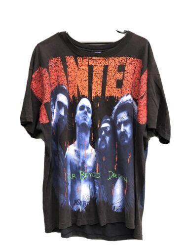 Pantera Shirt Signed By Dimebag Vtg White Zombie S