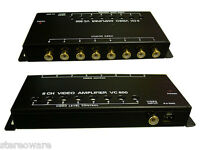 Tview 8 Channel Video Amplifier Connect 8 Monitors