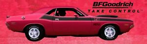 REPRODUCTION BFGoodrich Vinyl Banner Pink Challenger T/A . 3 Sizes Available