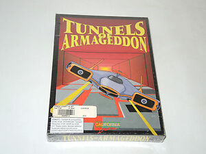 TUNNELS-OF-ARMAGEDDON-new-factory-sealed-big-box-PC-game-rare