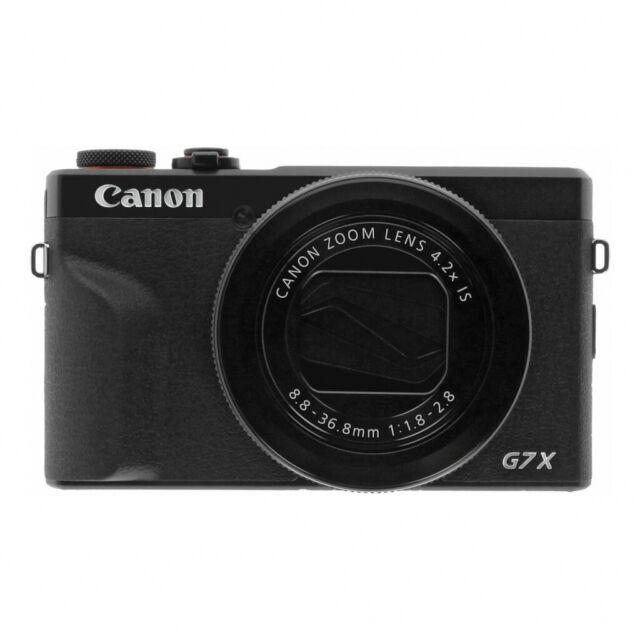 Canon PowerShot G7 X Mark III schwarz -Digitalkamera- NEU! **