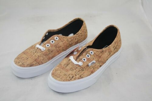 NEW VANS AUTHENTIC Cork Tan true White Vn0000Aigyt Size 4.5 -  39.99 ... 6c840b1315e3