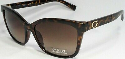 Damen-accessoires GemäßIgt Raten Gf0300 52f Damen Schildkröte Braun Rahmen Gläser Designer Sonnenbrille Neu