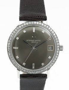 ETERNA-MATIC-3000-Automatic-White-Gold-with-about-71-Bright-and