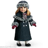 American Girl Nellie Holiday Coat & Hat Retired Doll Not Included Samantha