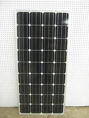 1- 150  Watt 12 Volt Battery Charger Solar Panel Off Grid RV Boat 150 watt total