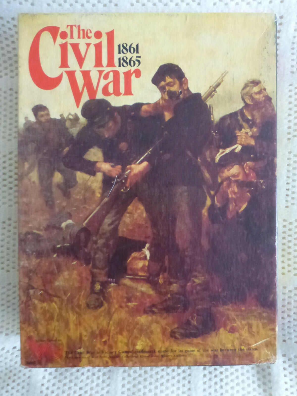 The Civil War COMPLETE  by Victory Games (sub, Of  Avalon Hill)