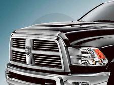 10-16 Dodge Ram 2500+3500 Chrome Bug Shield Air Deflector Hood Guard Protector