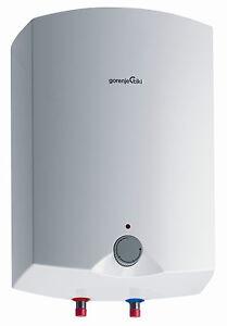 Ubertischgeraet-Obertisch-Boiler-Wandspeicher-Warmwasserspeicher-15-Liter-Gorenje