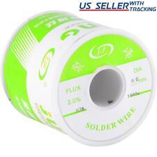 6337 Tin Lead Rosin Core Flux 06mm Diameter Soldering Solder Wire 1kg Spool