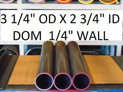 ".250  WALL 24/"" LONG E0543  DOM ROUND STEEL TUBE  5.750 OD  X  5.250 ID"