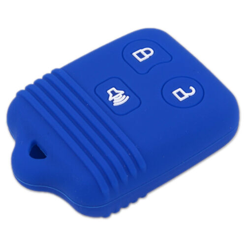 3 Button Silicone Remote Key Fob Case Skin Covers fit for ford Mercury Lincoln