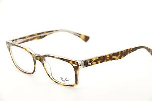5d4ecc6f233dd New Authentic Ray Ban RB 5286 5082 Tortoise Clear 51mm Frames ...