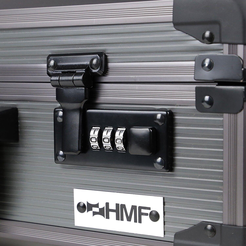HMF Waffenkoffer Transportkoffer Transportkoffer Transportkoffer Fotokoffer 3er Zahlenschloss Pistolenkoffer 9dd30d