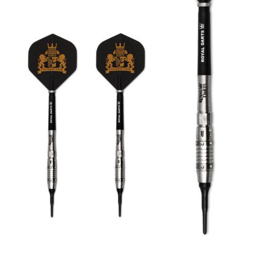 Soft Dart Dart Royal Darts Softdarts New King 16g Dartpfeile 90/% Tungsten