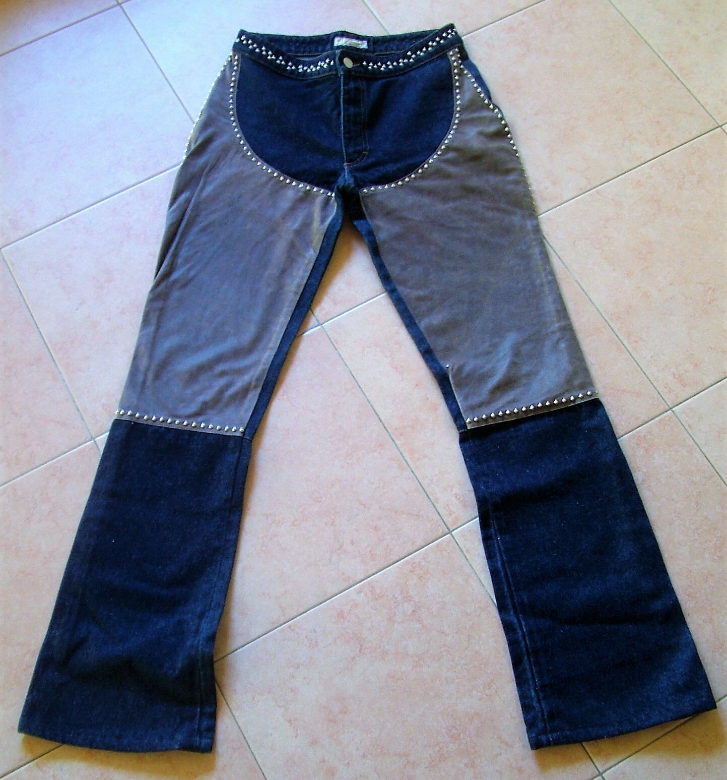 Jeans blueMARINE Skin and studs Beautiful