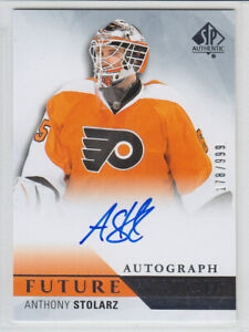 2015-16-UD-SP-AUTHENTIC-STOLARZ-RC-AUTO-178-999-FUTURE-WATCH-ROOKIE-262-Flyers