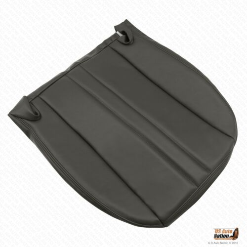 2007 2008 2009 GMC C Series Driver Bottom Vinyl Seat Cover Color Dark Gray