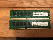 Crucial 8GB (2 x 4GB) ECC RAM-DDR3 - 1333MHz-CT51272BA1339.M18FMR - CL9