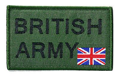 Ecusson patche patch BRITISH ARMY armée UK britannique brodé thermocollant