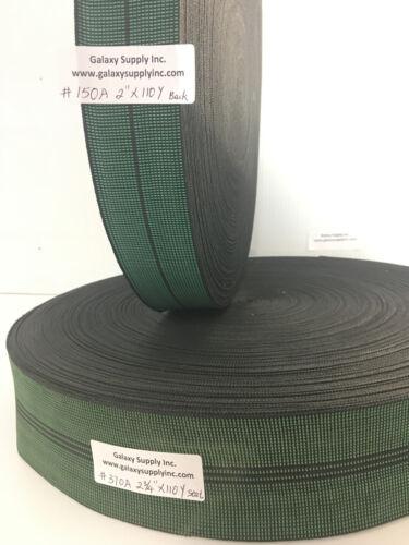 "Latex Elasbelt Stretch Webbing Upholstery Sofa//Chair Repair 2-3//4/"" X 110 yard"
