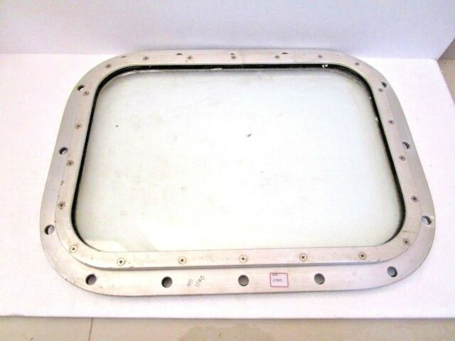 EXTRA LARGE - VINTAGE Marine PORT HOLE / Window -  SHIP'S 100% ORIGINAL  (1170)