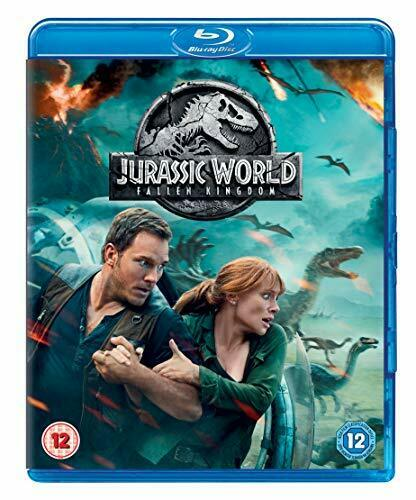 Jurassic World: Fallen Kingdom [Blu-ray] [2018] [Region Free]