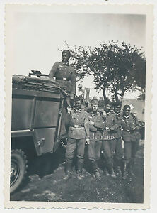 Photo Car/Truck Crew Wagon Soldiers 2.WK (L865)-  show original title - Deutschland - Photo Car/Truck Crew Wagon Soldiers 2.WK (L865)-  show original title - Deutschland