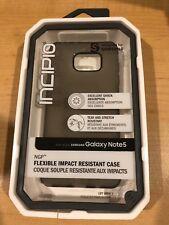 buy popular e1a44 93317 Incipio NGP Flexible Case for Samsung Galaxy Note 5 Gray Cover Protection  Matte TMOA64295