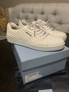 Authentic Prada Womens Quilted Leather