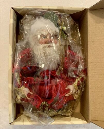 """MARK ROBERTS Mistletoe FAIRY CANDY BAG 51-56336 Red 17/"""" IN ORIGINAL BOX Perfect"""