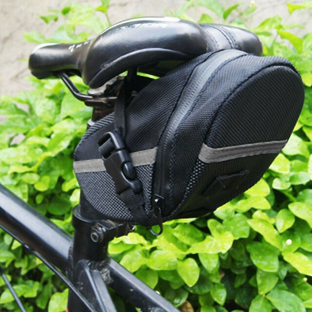Bicycle Saddle Bag Waterproof Bike Seat Bag 1L Cycling Under Seat Wedge Pouch
